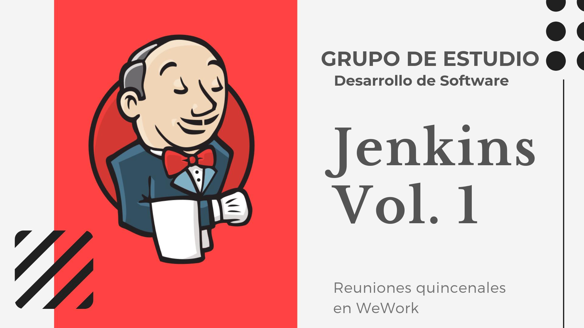Grupo de Estudio -Jenkins vol1